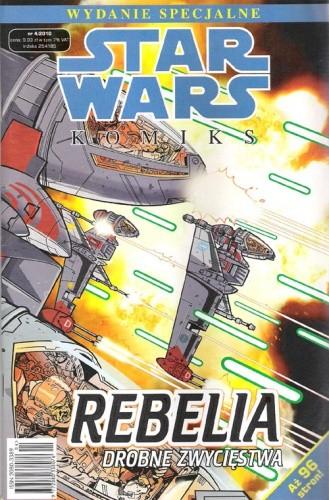 Okładka książki Star Wars Komiks. Wydanie Specjalne 4/2010