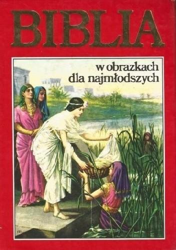 Okładka książki Biblia w obrazkach dla najmłodszych