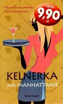 Okładka książki Kelnerka na Manhattanie