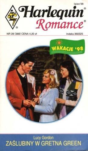 Okładka książki Zaślubiny w Gretna Green