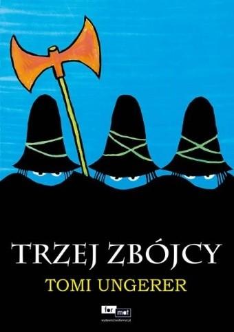 Okładka książki Trzej zbójcy