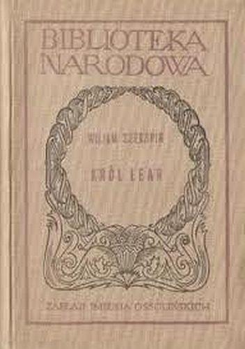 Okładka książki Król Lear