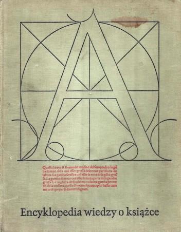 Okładka książki Encyklopedia wiedzy o książce