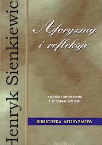 Okładka książki Aforyzmy i refleksje