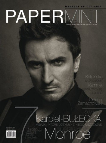 Okładka książki Papermint, numer pilotażowy