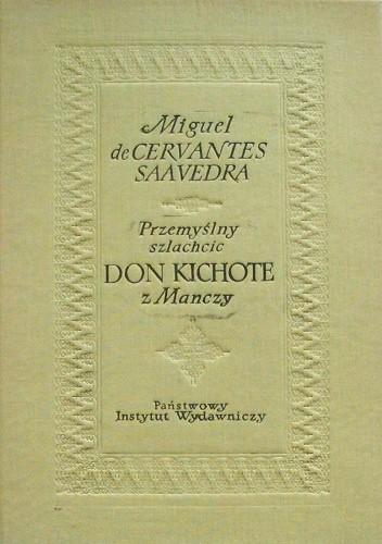 Okładka książki Przemyślny szlachcic Don Kichote z Manczy, t. 1 i 2