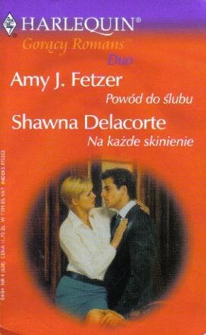 Okładka książki Powód do ślubu. Na każde skinienie
