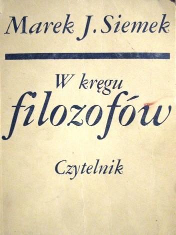 Okładka książki W kręgu filozofów