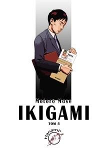 Okładka książki Ikigami #5
