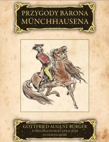 Okładka książki Przygody barona Münchhausena