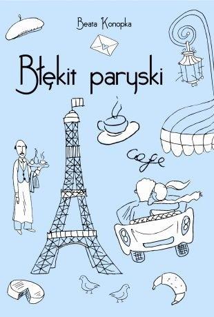 Okładka książki Błękit paryski