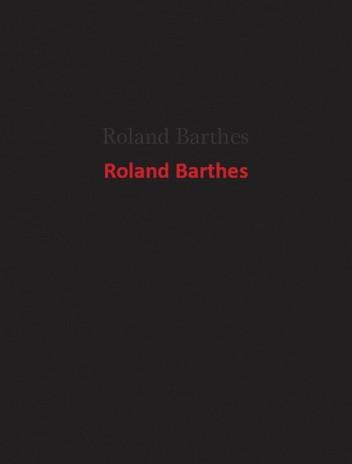 Okładka książki Roland Barthes