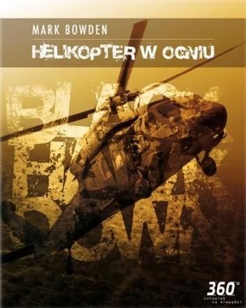 Okładka książki Helikopter w ogniu