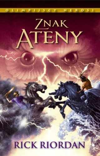 Okładka książki Znak Ateny