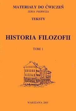 Okładka książki Historia filozofii. Tom 1