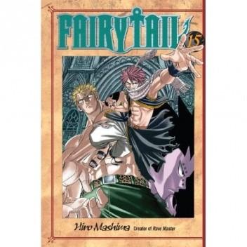 Okładka książki Fairy Tail Volume 15