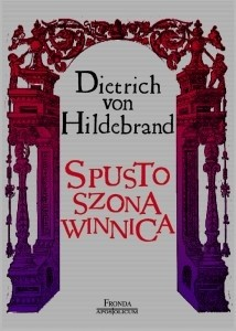 Okładka książki Spustoszona winnica