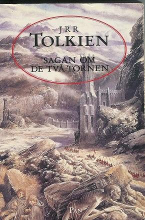 Okładka książki Sagan om de två tornen
