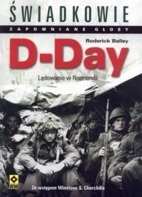 Okładka książki D-Day. Lądowanie w Normandii.