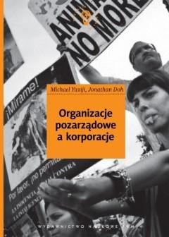 Okładka książki Organizacje pozarządowe a korporacje