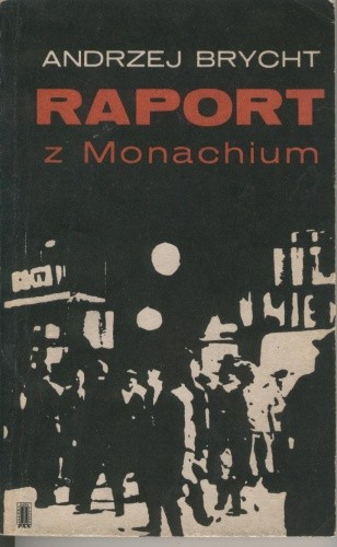Okładka książki Raport z Monachium