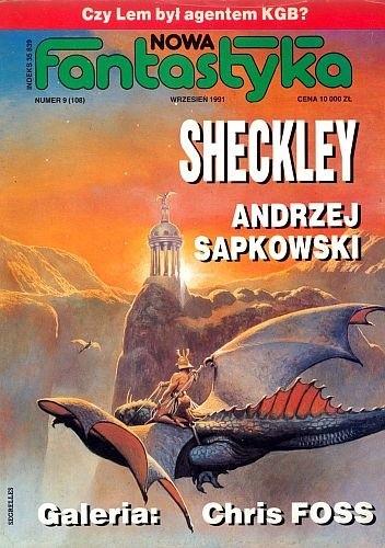 Okładka książki Nowa Fantastyka 108 (9/1991)