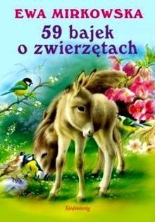 Okładka książki 59 bajek o zwierzętach