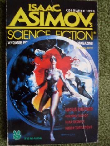 Okładka książki Isaac Asimov's science fiction czerwiec 1992