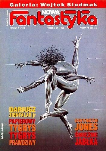 Okładka książki Nowa Fantastyka 132 (9/1993)