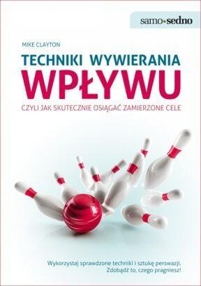 Okładka książki Techniki wywierania wpływu