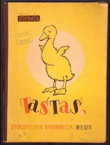 Okładka książki Taśtaś. Jak kaczorek poznawał świat