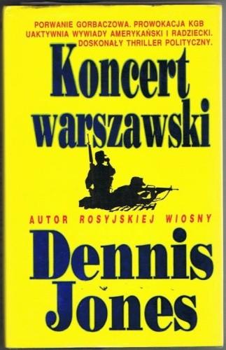 Okładka książki Koncert warszawski