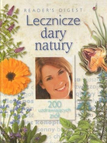 Okładka książki Lecznicze dary natury