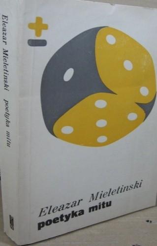 Okładka książki Poetyka mitu