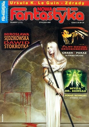 Okładka książki Nowa Fantastyka 172 (1/1997)