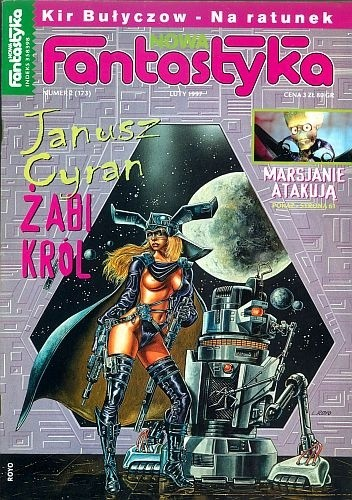 Okładka książki Nowa Fantastyka 173 (2/1997)