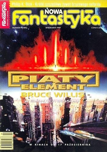Okładka książki Nowa Fantastyka 180 (9/1997)
