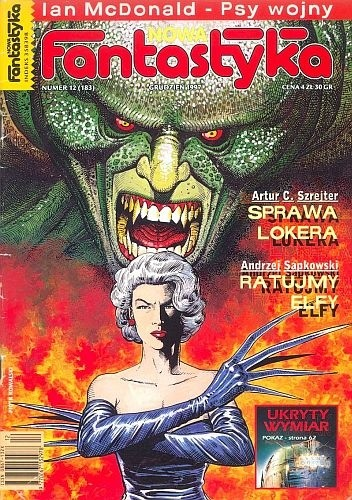 Okładka książki Nowa Fantastyka 183 (12/1997)