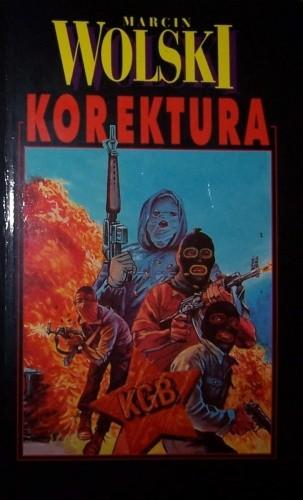 Okładka książki Korektura