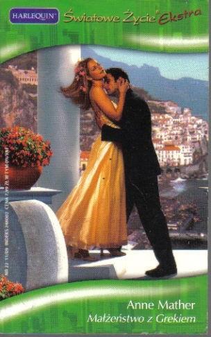 Okładka książki Małżeństwo z Grekiem