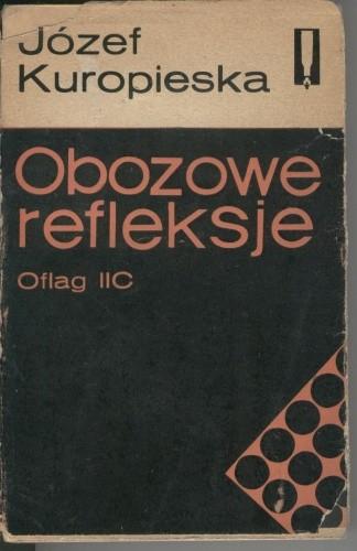 Okładka książki Obozowe refleksje. Oflag IIC
