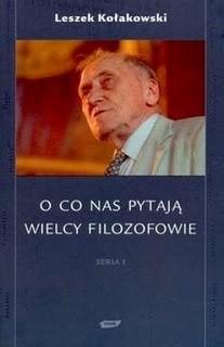 Okładka książki O co nas pytają wielcy filozofowie. Seria I