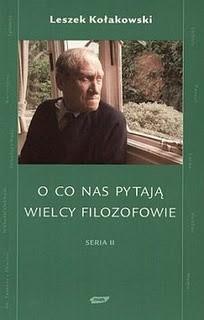 Okładka książki O co nas pytają wielcy filozofowie. Seria II
