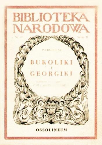 Okładka książki Bukoliki i georgiki