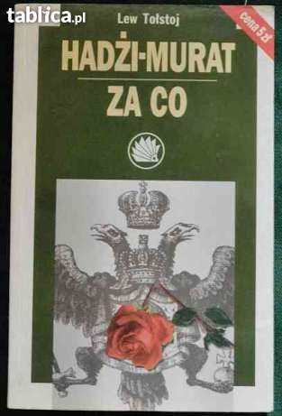 Okładka książki Hadżi-murat. Za co
