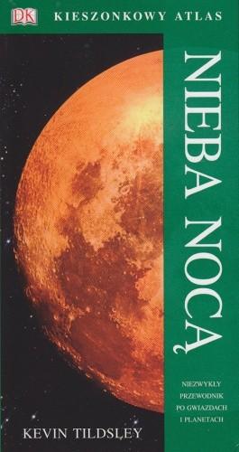 Okładka książki Kieszonkowy atlas nieba nocą
