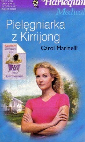 Okładka książki Pielęgniarka z Kirrijong