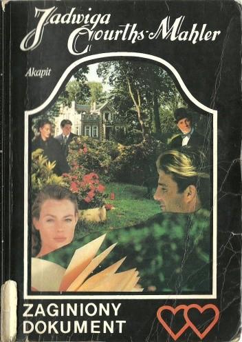 Okładka książki Zaginiony dokument