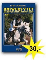 Okładka książki Uniwersytet młodych miłośników koni