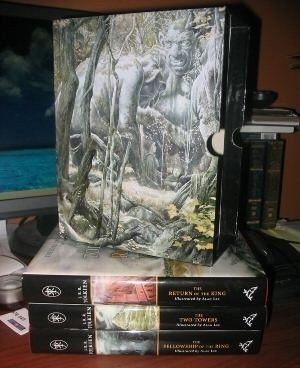 Okładka książki The Lord of the Rings